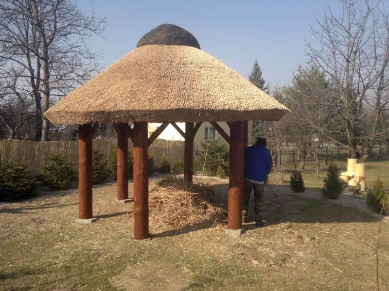 parasole trzcinowe-dachy z trzciny